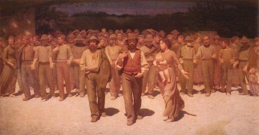 Il Quarto Stato di Giuseppe Pellizza da Volpedo 1901